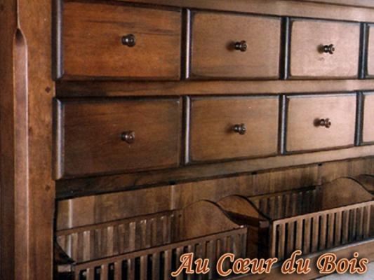 b nisterie menuiserie au c ur du bois meuble tiroirs. Black Bedroom Furniture Sets. Home Design Ideas